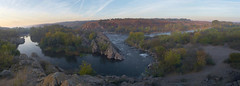 Autumn on the South Bug (Nameless_One) Tags: autumn trees sky panorama river dawn rocks stones rapids          southbug tamronspaf2040mmf2735if