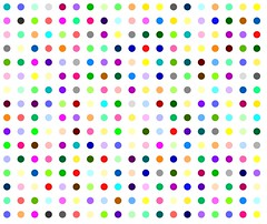 Nifoxipam (Robert Hirst - Official) Tags: street nyc newyorkcity pink blue light red urban orange brown white streetart newyork abstract black color green london art fashion yellow wall museum modern self painting circle stencil paint artist gallery arte purple handmade manhattan contemporary spot exhibition polka dot spots dots metropolitan polkadot metropolitanmuseumofart hirst damienhirst royalacademy benzodiazepine spotpainting roberthirst