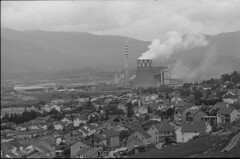 gacko power plant (veljko.vujcic) Tags: street city light chimney urban bw industry film analog geotagged photography town photo industrial factory dof photos kodak bosnia smoke trix olympus ishootfilm 400tx scan depthoffield hills iso pollution 400 herzegovina epson analogue asa 135 powerplant om analogphotography om1 smalltown hercegovina argentique 135mm bih analogic analogico gacko 135f35 istillshootfilm epsonv550