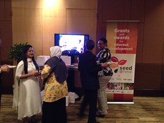 Seed Alliance activities at IGF 2013. Bali, Indonesia