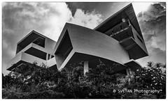 CAPTAIN NEMO REFUGE (RUSSIANTEXAN) Tags: vacation sky sun architecture photography mono nikon beam villa tropical caribbean stmaarten sxm 2013 anvar khodzhaev svetan d800e