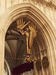 Erzengel Michael (1elf12) Tags: church germany deutschland cathedral kirche engel stmichael archangel ulm münster erzengel