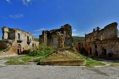 Poggioreale, Sicily, October 2015 057 (tango-) Tags: italien italy italia sicily sicilia belice sizilien sicilie terremotodelbelice ruderipoggioreale