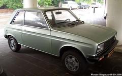 Peugeot 104 ZL 1982 (XBXG) Tags: auto old france holland classic netherlands car vintage french 1982 automobile nederland voiture zl frankrijk paysbas peugeot 104 ancienne overveen franaise peugeot104 35xpxl
