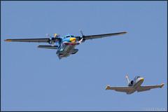 L-410UVP + L-39C (Pavel Vanka) Tags: plane airplane fly aircraft jet airshow czechrepublic albatros let spotting aero turboprop l39 pardubice l410 turbolet clv l39c czechairforce l410uvp aviationfair lkpd