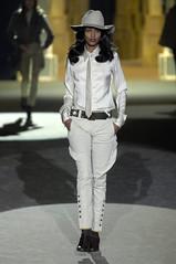 Liya Kebede 2 (drno_manchuria (simonsaw)) Tags: hat fashion shirt belt model moda tie modelo corbata sombrero necktie camisa liyakebede