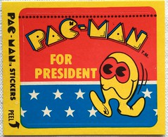 1980s Pac Man Stickers (Christian Montone) Tags: graphics stickers pacman 1980s tradingcards fleer vintagestickers nonsporttradingcards 1980sstickers pacmanstickers