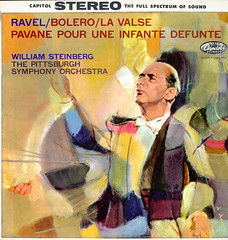 Maurice Ravel (1875 - 1937) - Bolero & Other Works (BudCat14/Ross) Tags: color vinyl stereo capitolrecords steinberg lps ravel vintageillustration pittsburghsymphonyorch