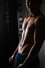 my human. (iampaulablue) Tags: boy portrait man guy boyfriend canon 50mm healthy body t3i