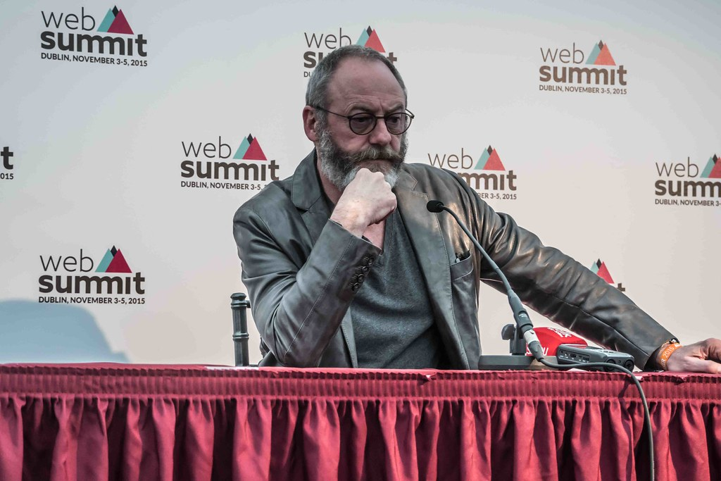 WEB SUMMIT 2015 - LIAM CUNNINGHAM MEETS THE PRESS [ACTOR]-109584