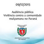 Audi�ncia p�blica debate atos de viol�ncia contra a comunidade mul�umana no Paran�