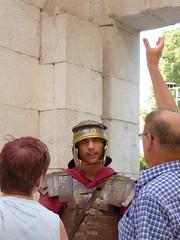 Guard, Diocletian's Palace - Split, Croatia (ashabot) Tags: people roman guard croatia balkans romanruins historicalsites splitcroatia
