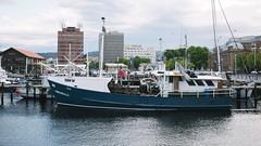 The Annandale (VirtualWolf) Tags: ship australia places things equipment tasmania vehicle hobart sullivanscove fishingship fujifilmx100s