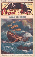 Shipwreck French dime novel (steammanofthewest) Tags: french pirates shipwreck captainmorgan 1911 dimenovel