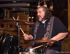 Dyno Drummer Mike Leasure (MarcCooper_1950) Tags: california portrait mike beard drums los nikon angeles livemusic blues southern drummer performer lightroom leasure d810 cadillaczack mauisugarmillsaloon waltertroutbanddrummer