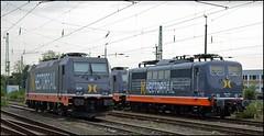 Hectorrail 162 001 (ex-DB Cargo 151 013) | Krefeld Hbf (OVNL) Tags: hectorrail db deutsche bahn schenker cargo dbs dbc baureihe 151 013 loc lok 162 001 br 241 009 traxx bombardier 185 krefeld hbf hauptbahnhof