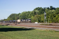 IMG_0030 A (mhellekjaer) Tags: 440 ohio berea norfolksouthern ns locomotive gec408w c408w
