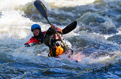 They both have boats (Gary/-King) Tags: 2016 jamaica kayak vermont waterrelease raft september westriver whitewater