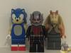 The Holy Trinity of Lego (AntMan3001) Tags: lego antman sonic hedgehog jarjar binks