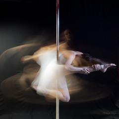 Pole Work (Eduardo Skinner) Tags: poledancer studio studiolighting strobes performingart poleartist humanfigure humanbody amazingbodies