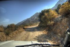 4wding in Crete (neilalderney123) Tags: 2016neilhoward crete landrover road track mountain landscape greece safariclub 4wd olympus omd