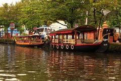 Reflection (Rajavelu1) Tags: boat rever allapuzha kerala india travel toor aroundtheworld art artland creative canon6d canonef70200f4llens veniceofeast