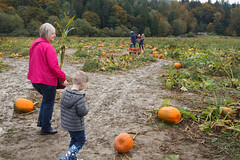 into the mud (embem30) Tags: cravenfarm pumpkinpatch halloween evan bonnie