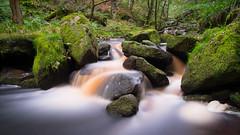 PADLEY GORGE (Rust Never Sleeps) Tags: padley gorge peak strict derbyshire england united kingdom fujifilm xt10 fujinon srb nd1000 xf 18mm f2 water fall filter xf18mm