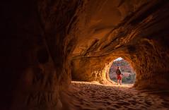 The Cave (Daniel Regner) Tags: kanab utah ut nikon d810 landscape digital daniel regner west travel vacation samyang 14mm f28 wide angle nature natural cave caving caves sand dunes dune walls america american manual focus prime lens