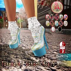 MHC+MHP_Takahashi Heels (MumuHime Clothing) Tags: mumuhimeclothing mhcmhp mumuhimeproducts mumuhime secondlife slfashion slmesh mesh slink avatar enhancement sl