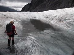 Glacier guiding (boemlau) Tags: newzealand new zealand nieuwzeeland nieuw zeeland 2014 franz josef gletsjer glacier franzjosef hiking hike heli helicopter helihike ice ijs
