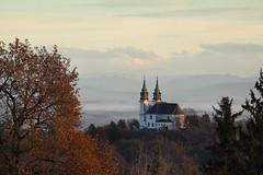 Pstligberg, Linz, Upper Austria (karlmayer56) Tags: wallfahrtskirche iglesia chirch linz cloudsmistylandscape city upperaustria obersterreich
