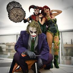 Batman's arch enemies (R.o.b.e.r.t.o.) Tags: poisonivy joker harleyquinn romics comics cosplay cosplayer roma italia film movie fumetti cartoon