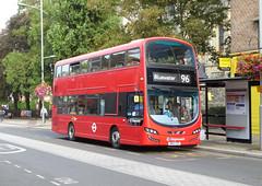 SLN 13011 - BN14VZP - BEXLEYHEATH SHOPPING CENTRE - FRI 9TH SEPT 2016 (Bexleybus) Tags: bexleyheath shopping centre kent stagecoach london wrightbus gemini volvo hybrid tfl route 96 13011 bn14vzp