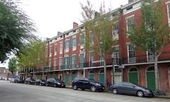 (sftrajan) Tags: neworleans juliastreet rowhouses architecture nationalregisterofhistoricplaces centralbusinessdistrict cbd 19thcentury brick