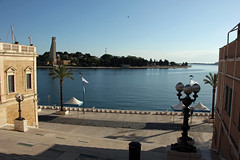 View to the bay of Brindisi and the Monu by EduardMarmet, on Flickr