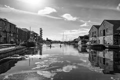 Exeter Quay (pm69photography.uk) Tags: exeter quay river blackandwhite bw fuji xt2 16mmf14 devon