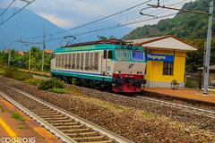 FS E652.035 (DavideEos) Tags: eisenbahn ferrovia railway treno train zug merci freight binari domodossola sempione