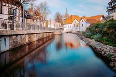 Good Afternoon (camerue) Tags: cityscape landscape river longexposure colorful sun autumn sharp nature