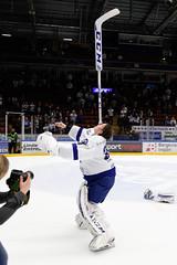 Henrik Haukeland 2016-02-06 (Michael Erhardsson) Tags: henrik haukeland 20160206 målvakt goalie hockeyallsvenskan vinstmatch glädje show 2016 lif leksands if showar fotograf vinst