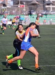 Only The Strong Survive (Ctuna8162) Tags: rugby sports women womensrugby play game competition run running runner antofagasta chile