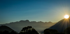 Sunset, Queenstown (quiltershaun) Tags: mountains new zealand nz lake landscape sunset sun travel nikon south island nature queenstown