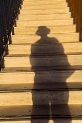 Shadow going up stairs, Malta (thorrisig) Tags: 03112016 bugibba malta skuggi trppur orri thorrisig thorfinnursigurgeirsson thorri orrisig thorfinnur orfinnur orfinnursigurgeirsson sigurgeirsson sigurgeirssonorfinnur dorres shadow stairway staircase stairs