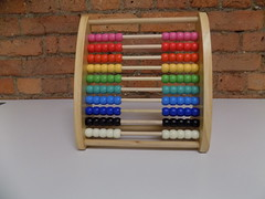 A Primary School Teacher's Abacus (itnmarkeducation) Tags: abacus adding times multiply add toy educationaltoy learn learning addition timestables reference timestable class pupil student teacher school primaryschool math maths mathematics counting addingup revision child children lesson keystageone