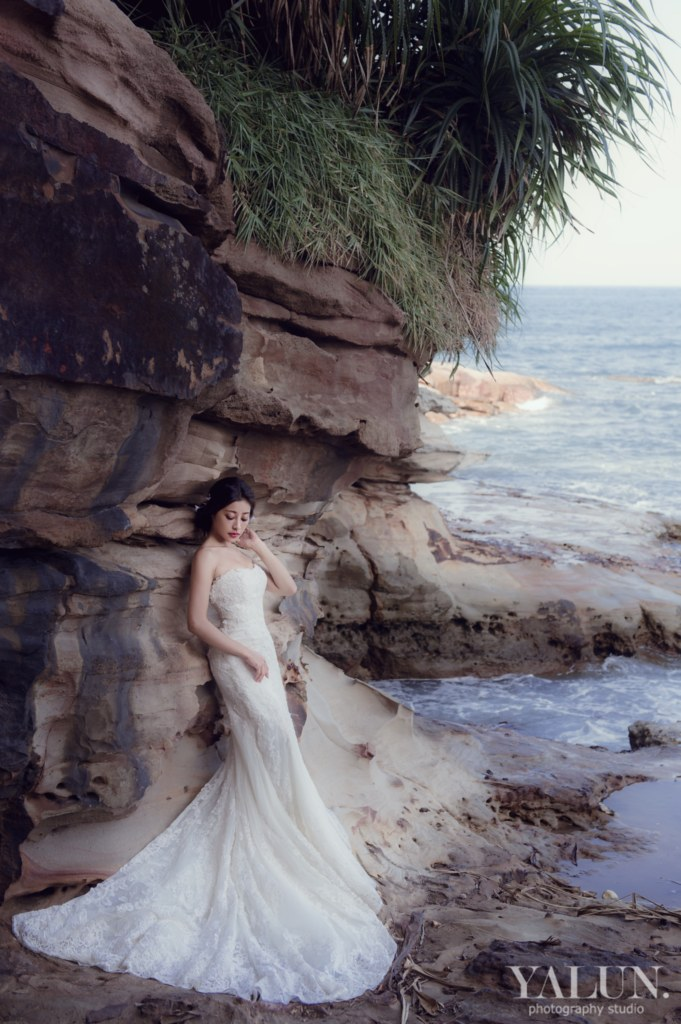 Pre-Wedding,自助婚紗,台北婚紗,亞倫攝影,芮妮愛玩妝,金山水尾漁港