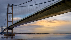 Humber Bridge UK- (Allan A Albery) Tags: red humberbridge seascape structure sonyzeiss2470mmfe sonya7ii lightroom light water sonyflickraward
