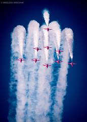 Air Show by Red Arrows UK (Sreelesh Sreedhar) Tags: airshow redarrow uk tele flying ngc muscat nikon nikond800 nikonflickraward oman outdoor sky