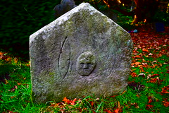 An interesting gravestone in the churchyard at Old Bewick (colin9007) Tags: northumberland old bewick church churchyard graveyard