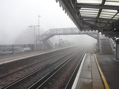 Etchingham Station (ART NAHPRO) Tags: misty foggy mist fog etchingham sussex rural weal wealden winter december 2016 trees lane