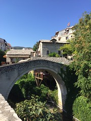 Crooked Bridge (tiny red warrior) Tags: mostar bosniaandherzegovina europe travel